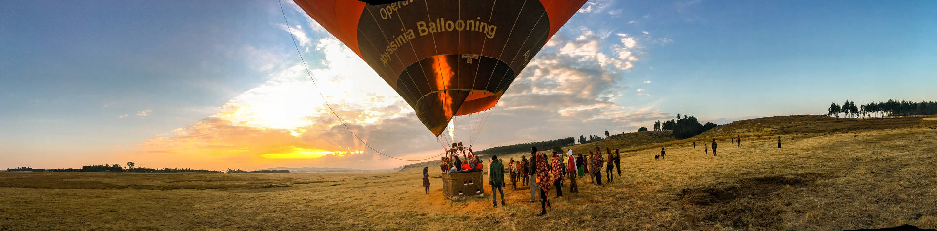 Balloon flights in Ethiopia with Abyssinia Ballooning