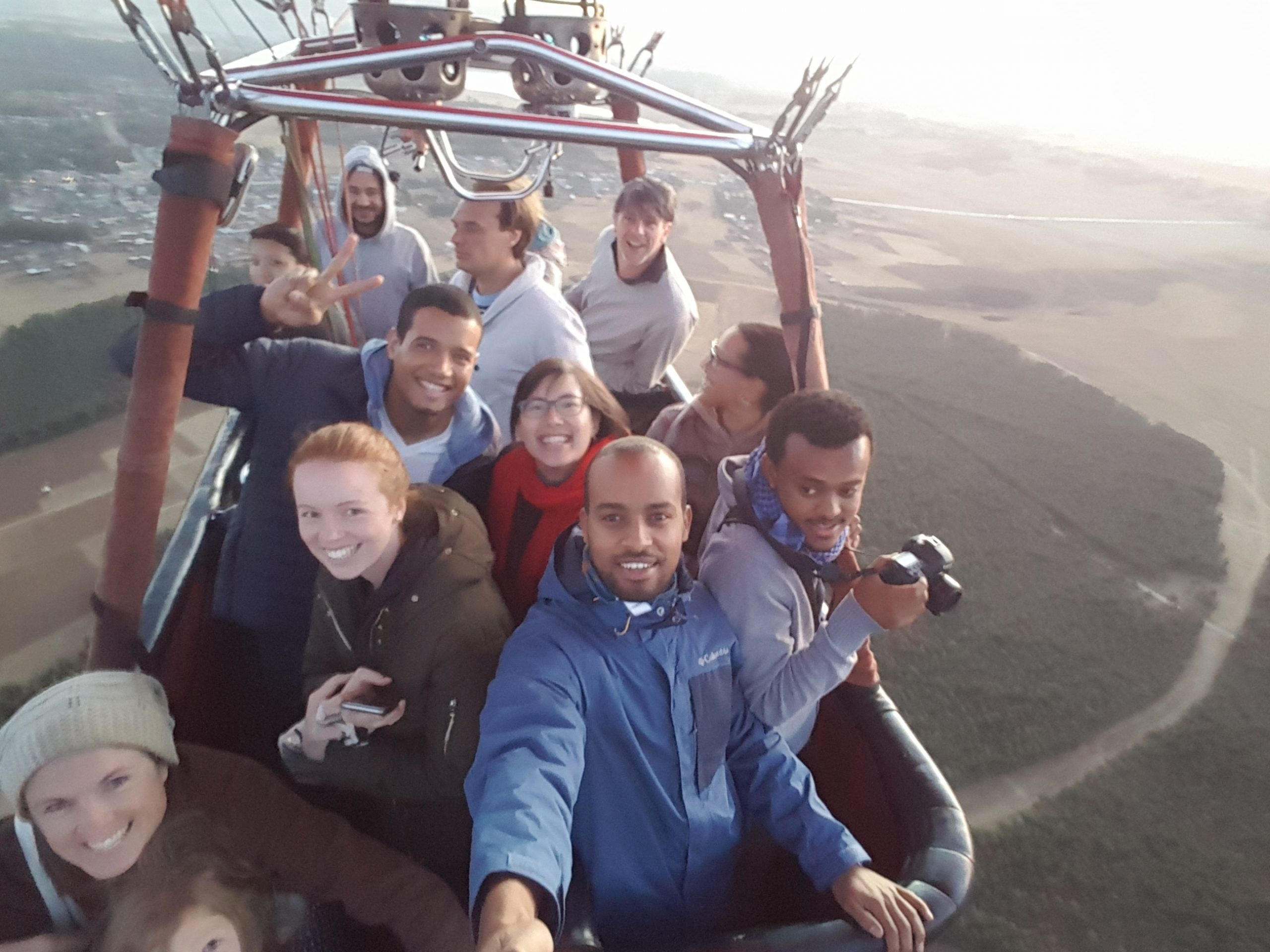 Sunrise balloon flight Addis Ababa Friday 30 April 2021